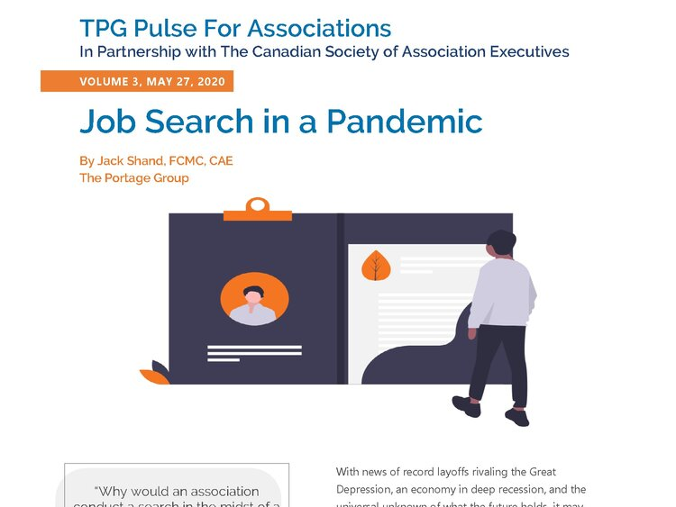 Volume 3 – Job Search in a Pandemic