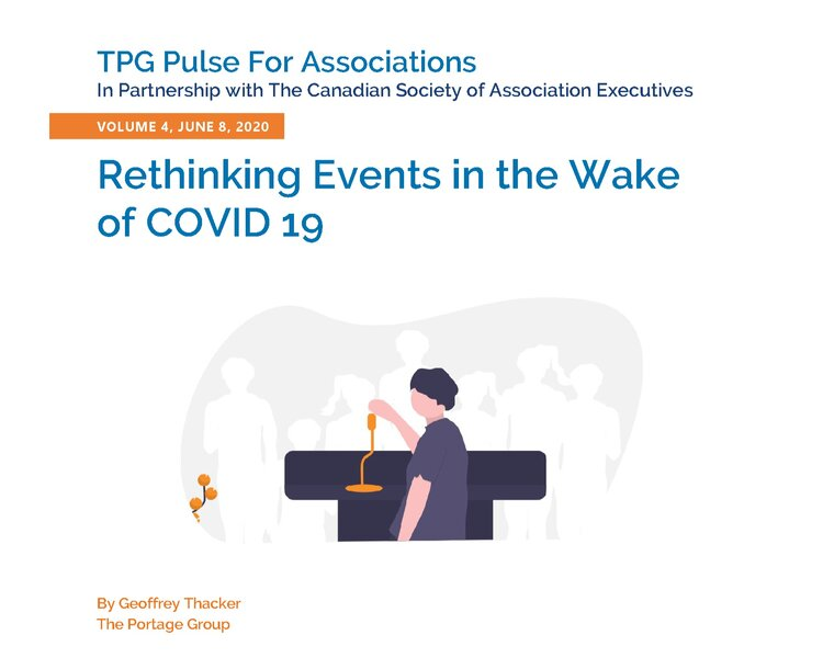 Volume 4 – Rethinking Events in the Wake of COVID 19