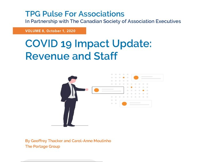 Volume 8 – COVID 19 Impact Update: Revenue and Staff